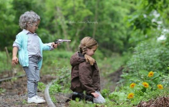The Walking Dead met kinderen