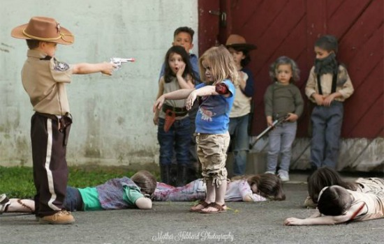 The Walking Dead kinderversie