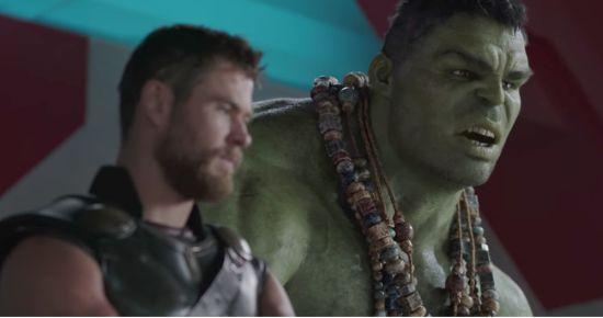 Thor en Hulk zijn een leuk duo