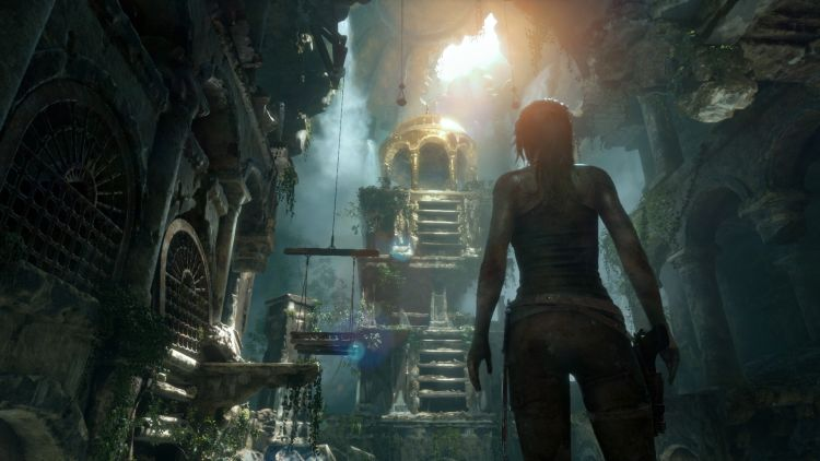 Tomb Raider gaat weer lekker tomben raiden
