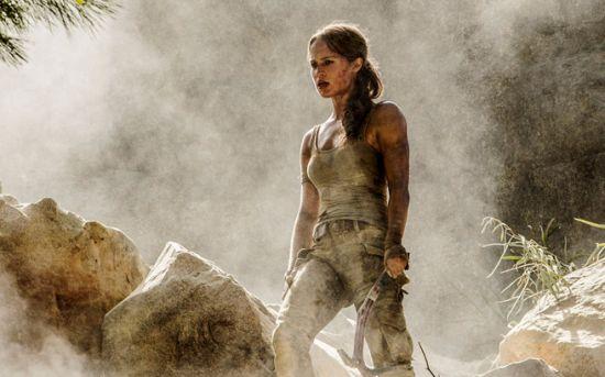 De beeldschone Zweedse actrice vertolkt het iconische videogamepersonage
