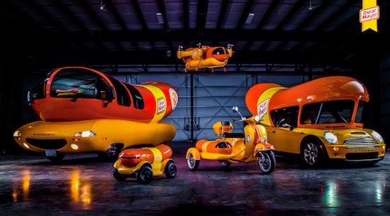 WienerDrone: een vliegende hotdog bezorger