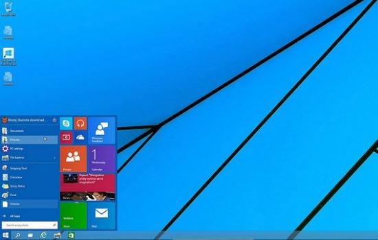 Het befaamde Windows 10 krijgt binnenkort een update