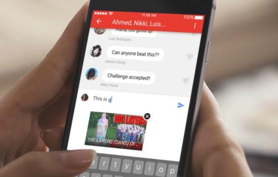 YouTube in-app chatfunctie