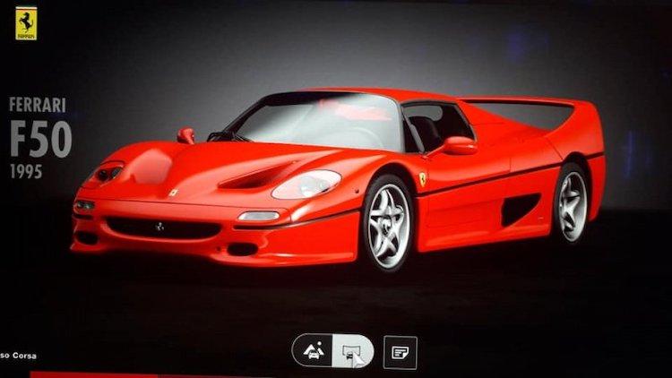 Ferrari F50, een nieuw circuit en meer naar GT Sport