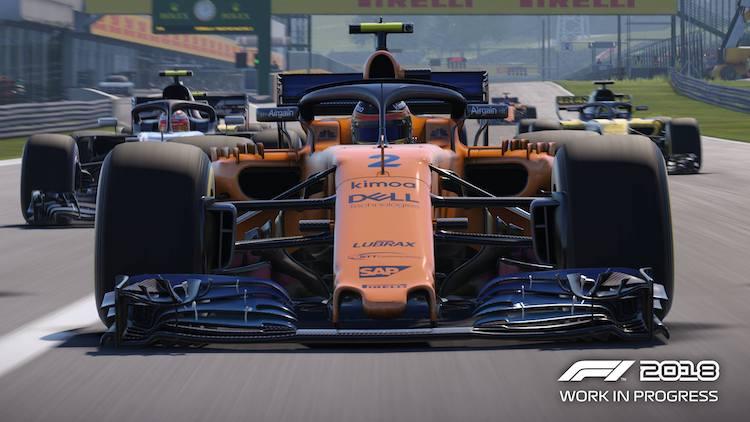 McLaren in F1 2018