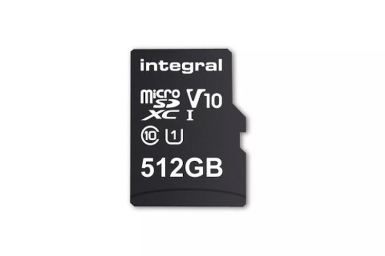 Dit is het eerste MicroSD-kaartje met 512 GB opslag