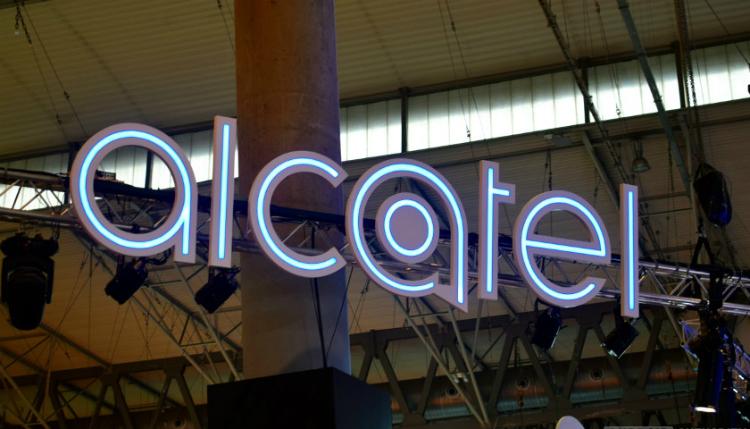 Alcatel toestel met straling
