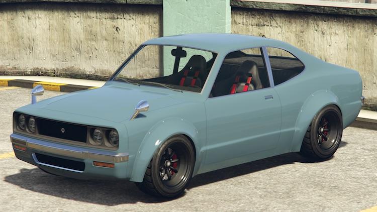 GTA Online verwelkomt Japanse sportwagen