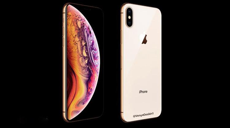 De gouden iPhone XS