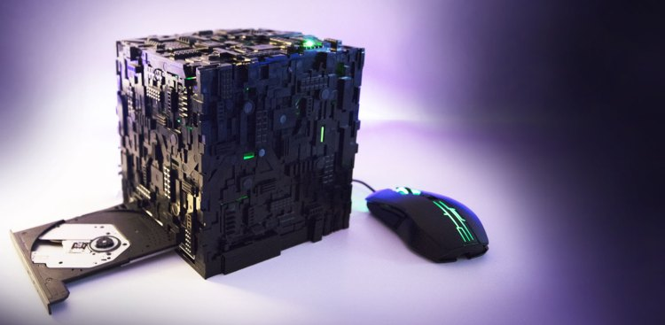 Borg Cube PC