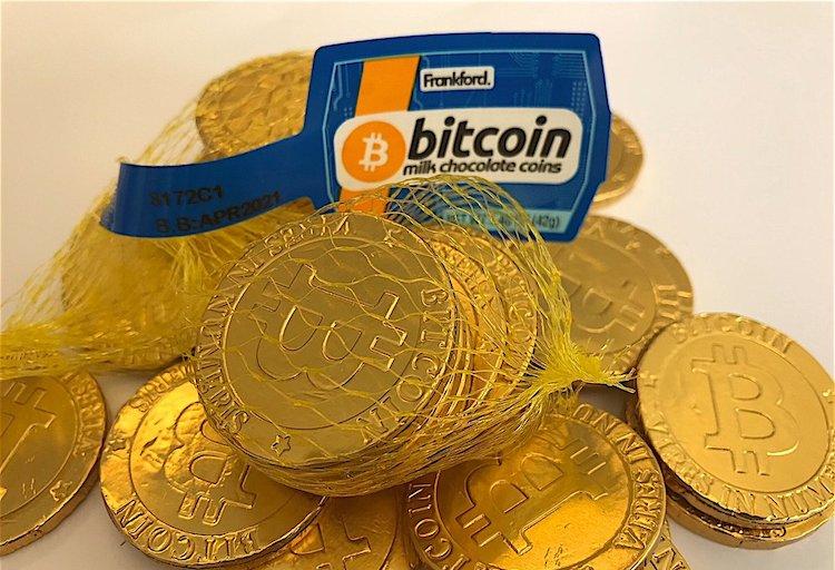 De chocolade-bitcoin van Walmart