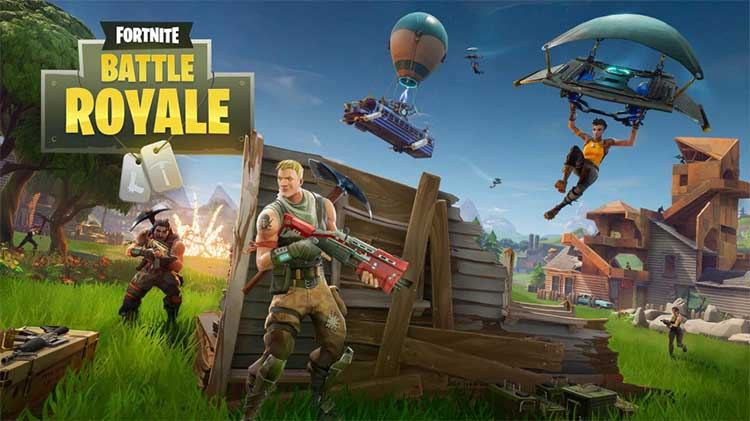 Fortnite: Battle Royale verpulvert de concurrentie