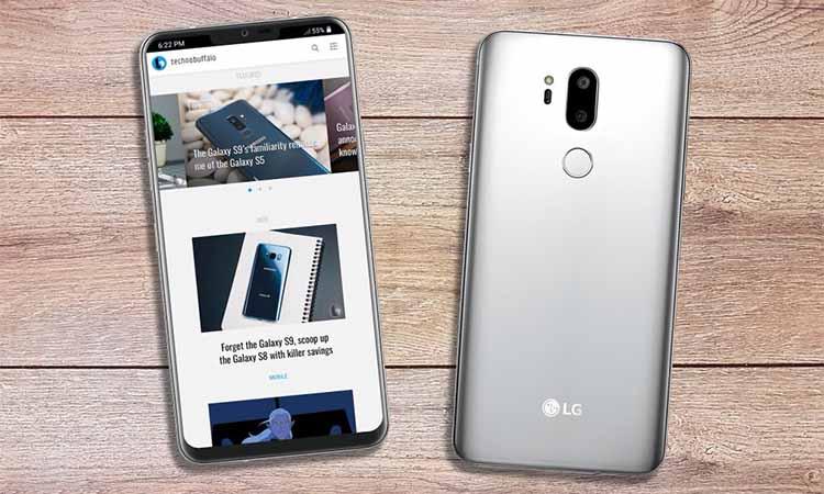 'LG G7 verschijnt met OLED- en LCD-display'