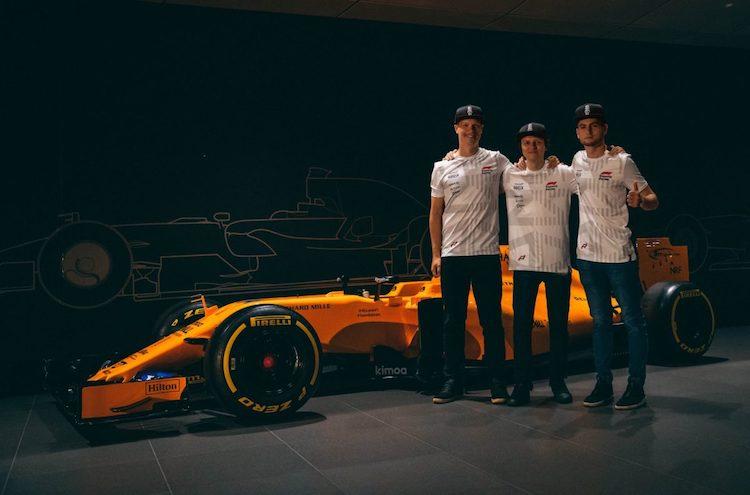 Bono Huis tekent bij McLaren Shadow