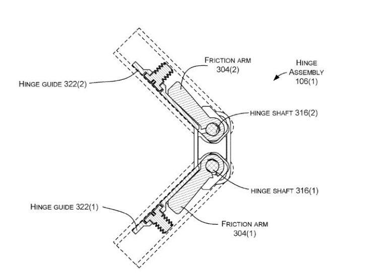 Microsoft-scharnier-patent