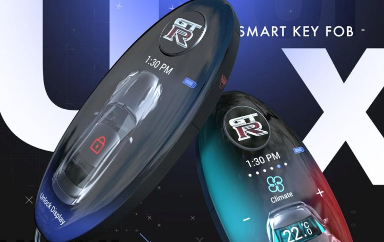 Nissan-slimme-sleutelhanger
