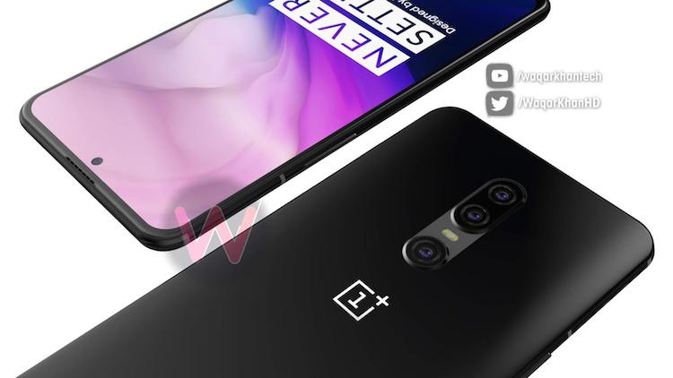 Ontwerper maakt concept nieuwe OnePlus 7