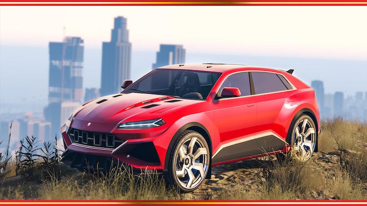 'Lamborghini Urus' naar Grand Theft Auto: Online