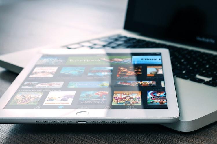Netflix op een iPad