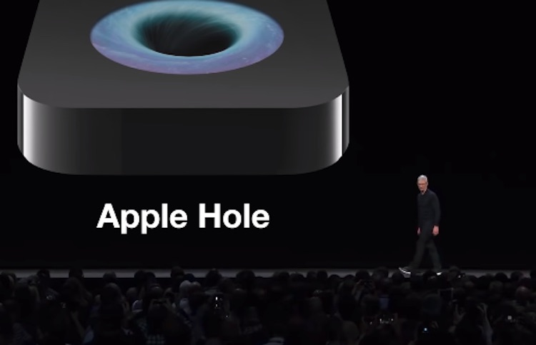 Apple compleet in de gezeik genomen in viral video