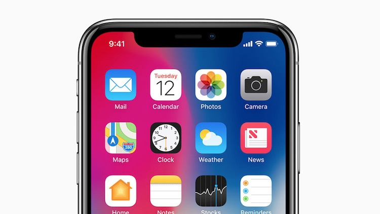 Apple verplicht app-makers rekening te houden met iPhone X-notch