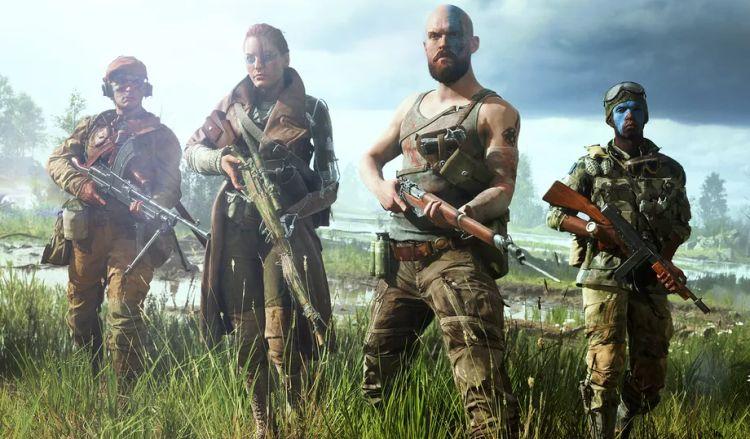 De soldaten zijn niet heel realistisch, maar wel heel badass