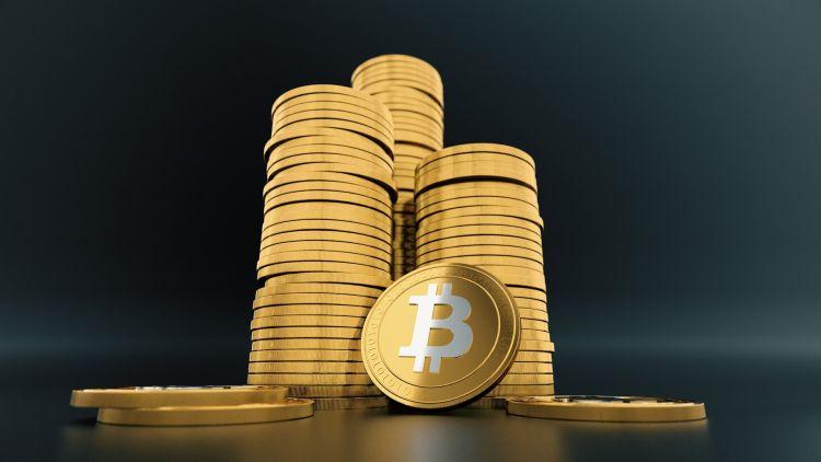 Linke soep, die Bitcoins