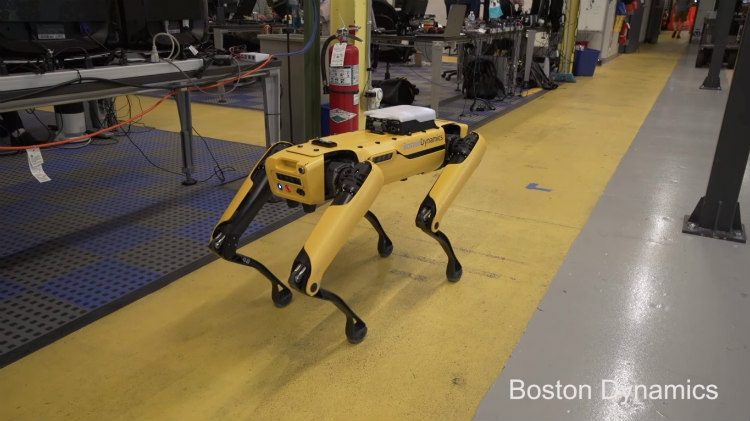 Boston Dynamics Spotmini robothond