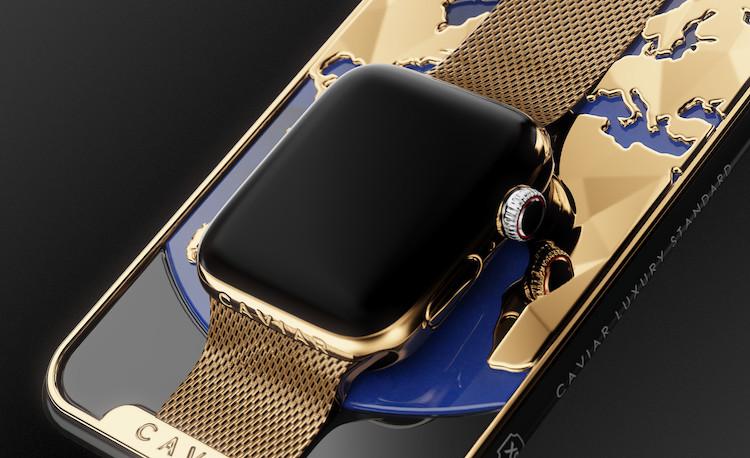 Gouden iPhone XS Apple Watch combinatie kost je 21.000 dollar