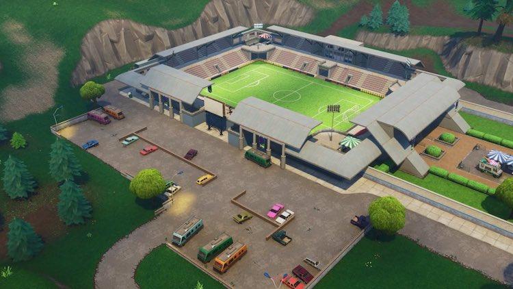 Fornite krijgt voetbalstadion