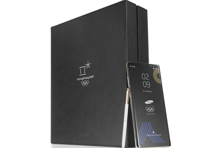 Galaxy Note 8 Olympische editie