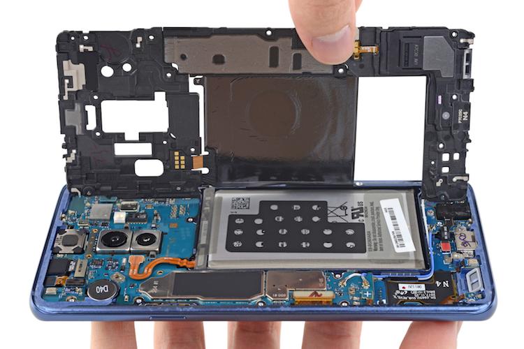 Teardown: de nieuwe Samsung Galaxy S9