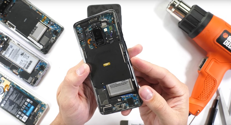 Sexy? Samsung Galaxy S9 met transparante case
