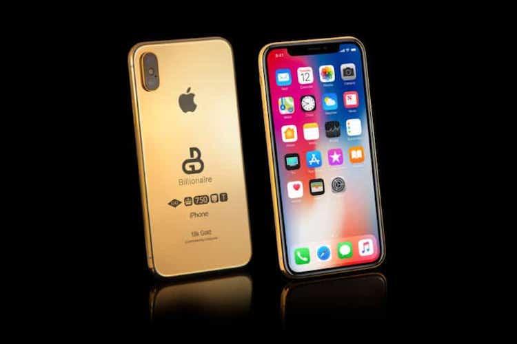 Koop nu al een gouden case voor je 2018 iPhone