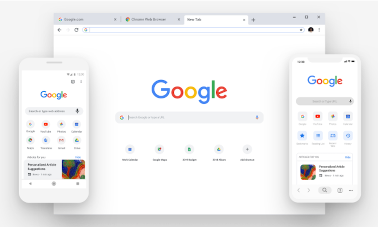 Google Chrome Redesign