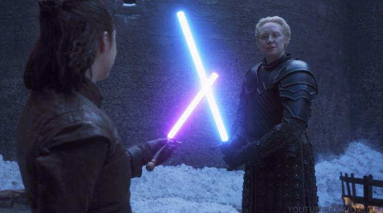 Arya Skywalker en Brie-wan Kenobi