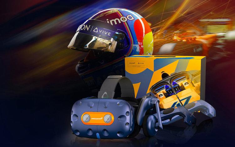 HTC Vive krijgt speciale McLaren-editie