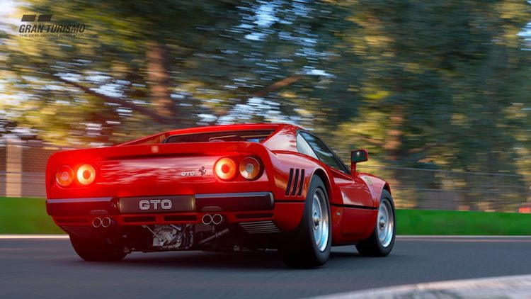 Ferrari GTO in GT Sport