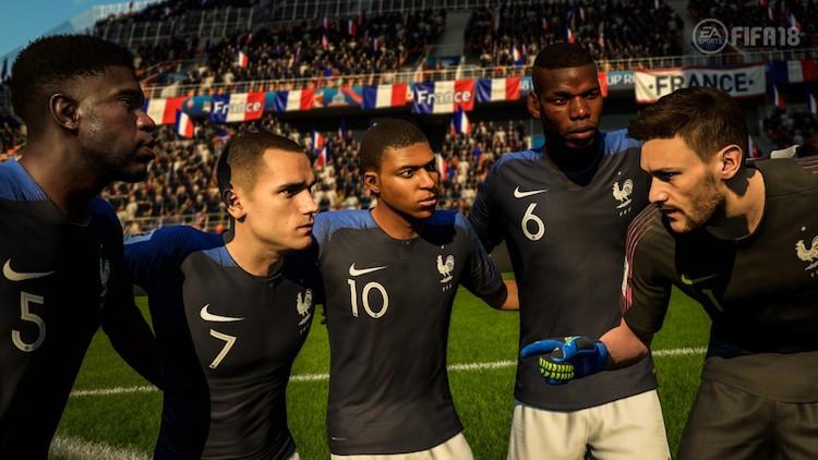Frankrijk won ook in FIFA 18 het WK