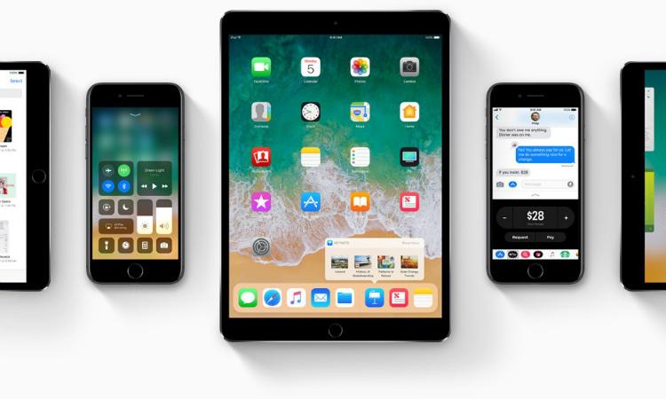 iOS 11 adoptie januari 2018