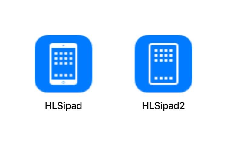 Icoontjes nieuwe iPad Pro