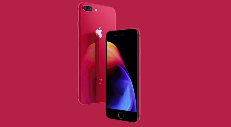De iPhone 8-reeks komt met een bijzondere kleur