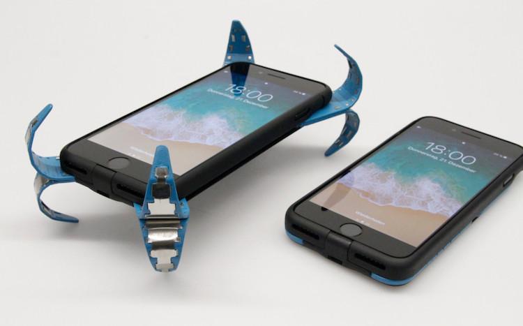 Dit hoesje is als een kussen voor je smartphone