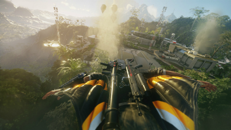 Just Cause 4 gameplay met tornado