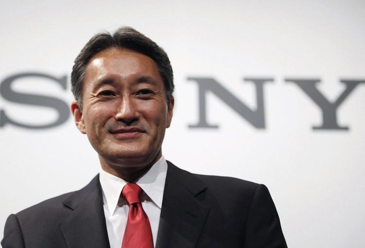 Sony CEO Kaz Hirai houdt het voor gezien