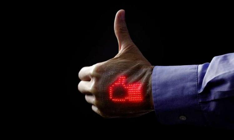 Slimme LED pleister