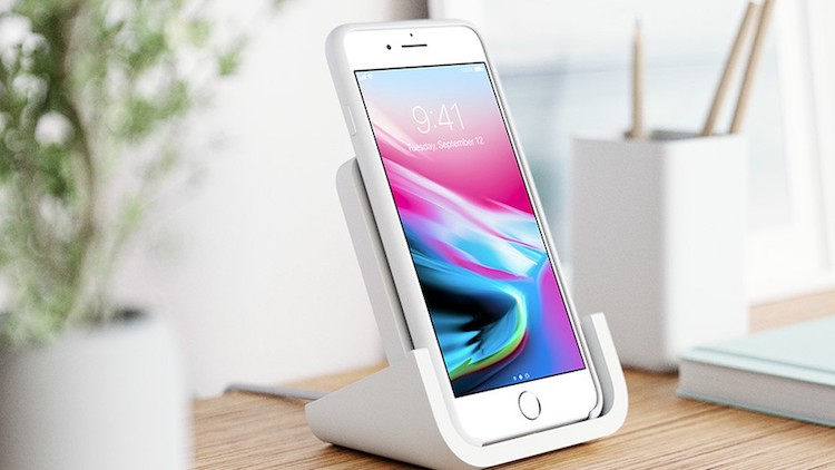 Deze draadloze lader is speciaal voor de iPhone gemaakt