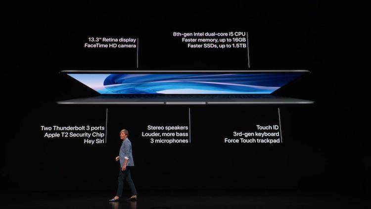 Officieel: Apple vernieuwt de MacBook Air