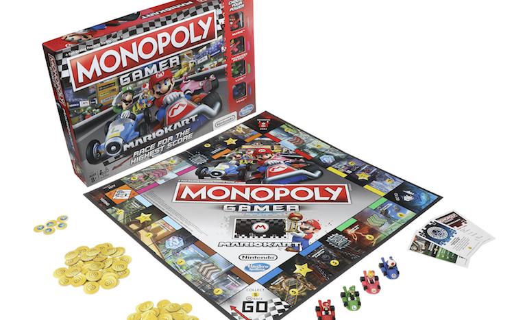 Te gek: Mario Kart komt er ook als Monopoly-spel